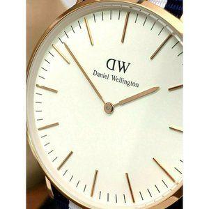 Daniel Wellington Mens Watch 0102DW Rose Gold Case